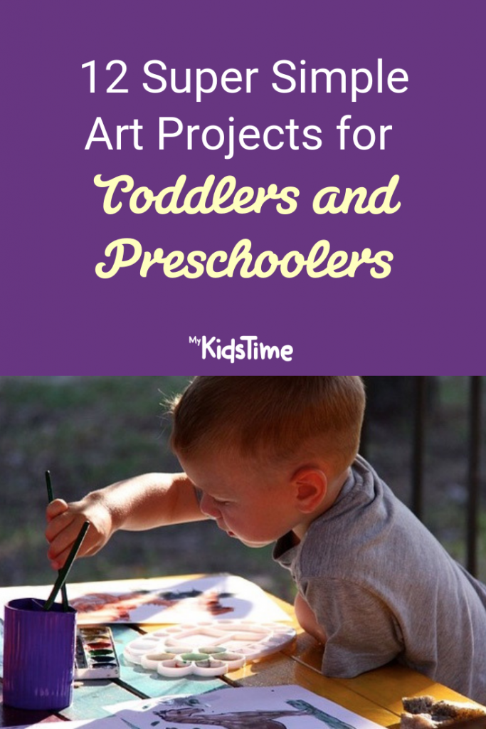 Art Projects for Toddlers and Preschoolers