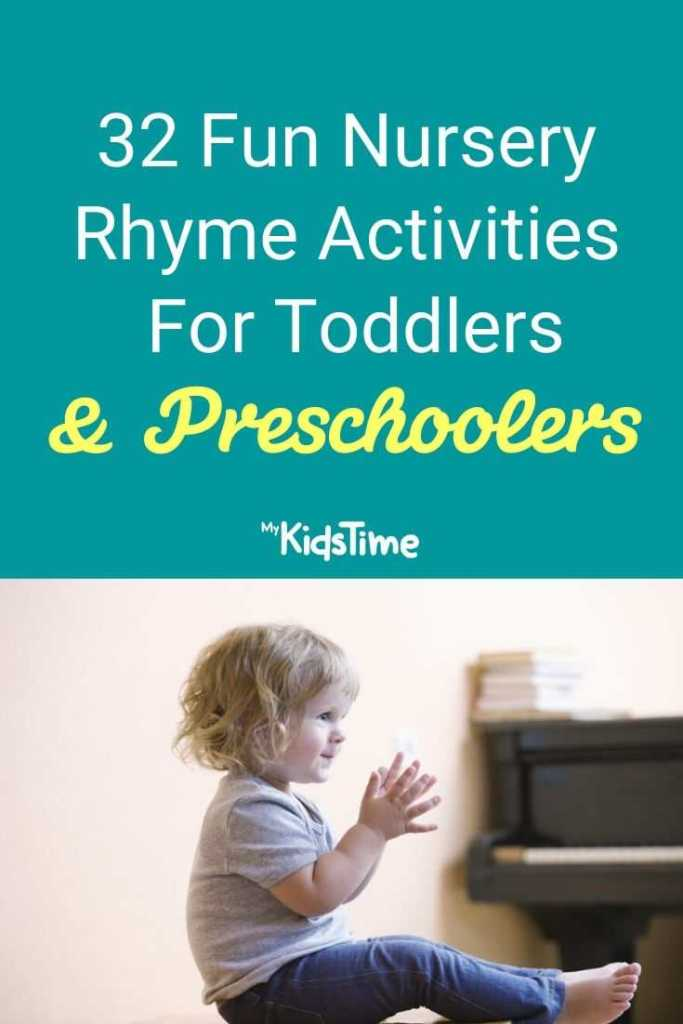 32 fun nursery rhyme activities for toddlers and preschoolers