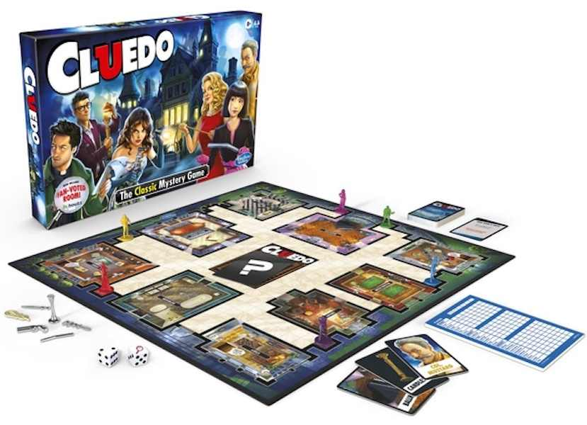 Cluedo for best board games