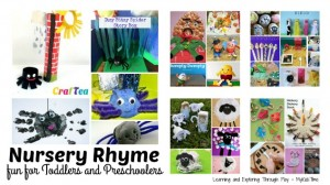 Nursery Rhyme Activities Header