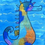 Amazing Seahorse from Art Projects for Kids