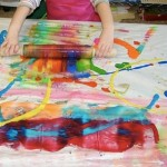 art projects for toddlers rolling pin art from casa maria
