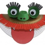 Craft for Kids Chinese New Year Dragon Puppet from DLTK