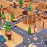 Handmade Toys for Kids Roads from Picklebums