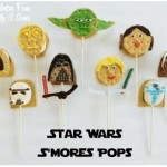 Star Wars Party Food Ideas Smores from KitchenFunWithMy3Sons