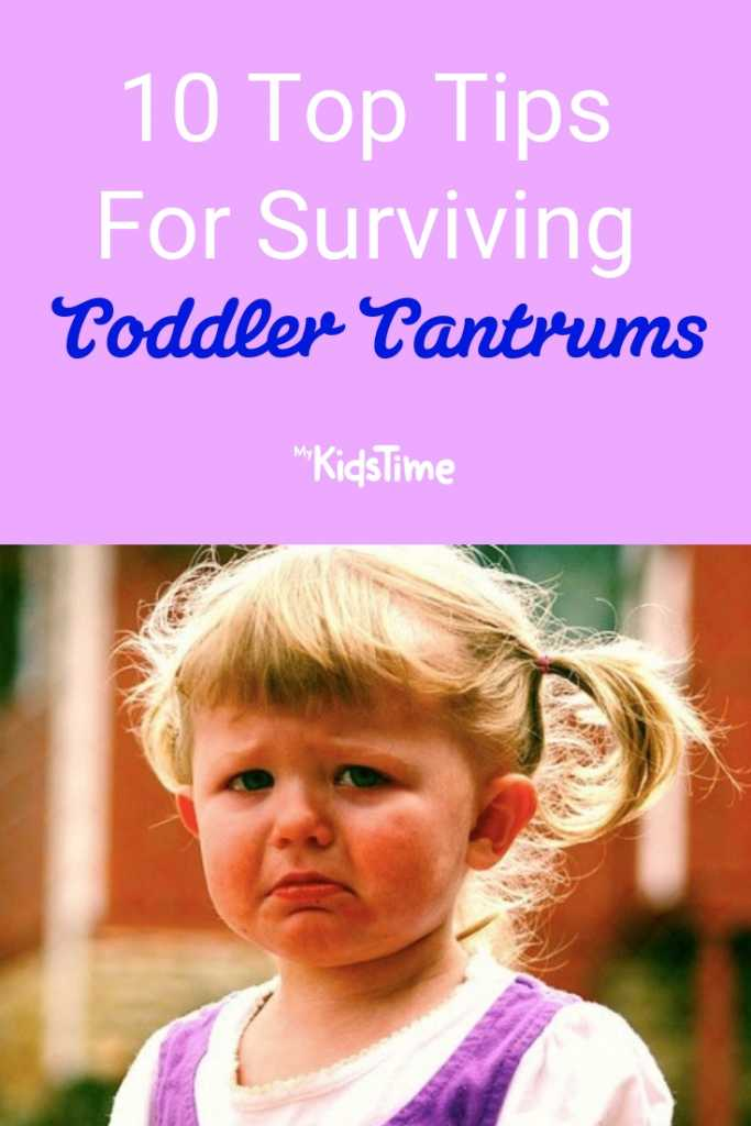 10 Top Tips for Surviving Toddler Tantrums