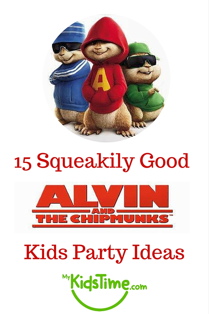 15 Squeakily Good Alvin and The Chipmunks Kids Party Ideas