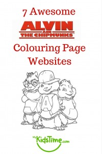 7 Awesome Alvin and Chipmunks Colouring Page Websites