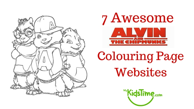13 Awesome Alvin and the Chipmunks Colouring Page Websites