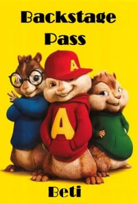 Alvin Backstage pass invitation