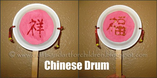 chinese drum craft