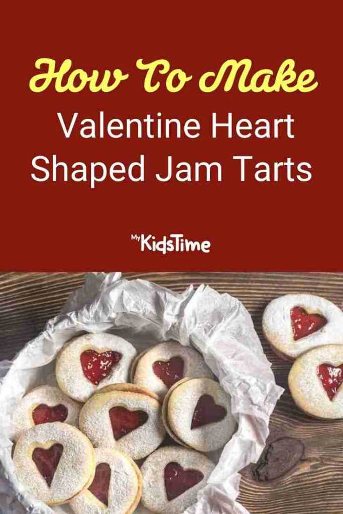 How To Make Valentine Heart Shaped Jam Tarts