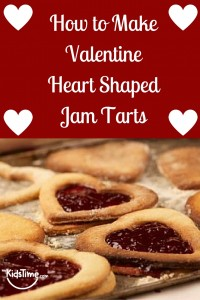 How to Make Valentine Heart Shaped Jam Tarts Pinterest