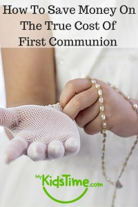 How to Save Money on the True Cost of First Communion