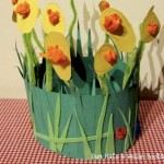 Spring Crafts for Kids Spring Hat from Sun Hats and Wellie Boots