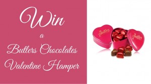 Win a Butlers Chocolates Valentine Hamper pink
