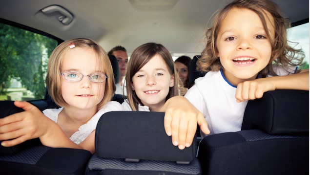 Car journey with kids are we there yet?