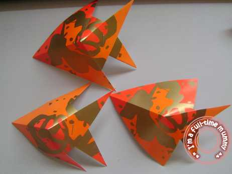 chinese new year fish craft
