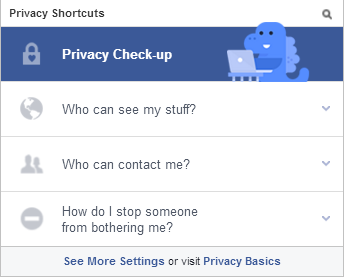 facebook privacy checkup