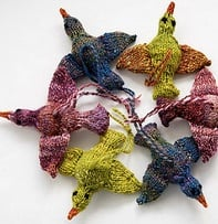 Knitting Birds from Ravelry