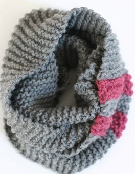 Knitting Cozy Cowl from all Free Knitting