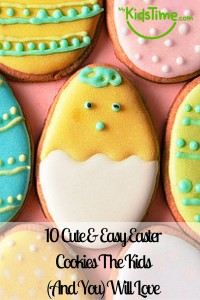 10 Cute & Easy Easter Cookies The Kids (And You) Will Love