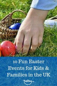 Easter Events for Kids & Families in the UK