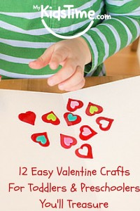 12 Easy Valentine Crafts for Toddlers & Preschoolers You'll Treasure (1)