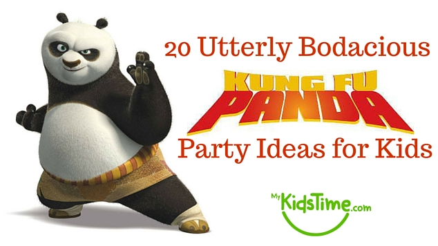 20 Bodacious Kung Fu Panda Party Ideas for Kids Header