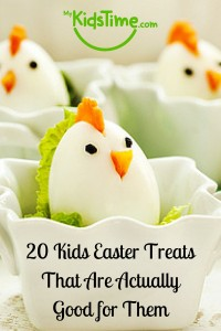 20 Kids Easter Treats that Are Actually Good for You