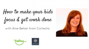 How to make your kids focus & get work done featured blog post