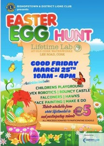 Easter Egg Hunt at Lifetime Lab Cork