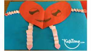 Valentine Crafts for Kids Heart Pepole