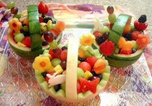 easter fruit basket