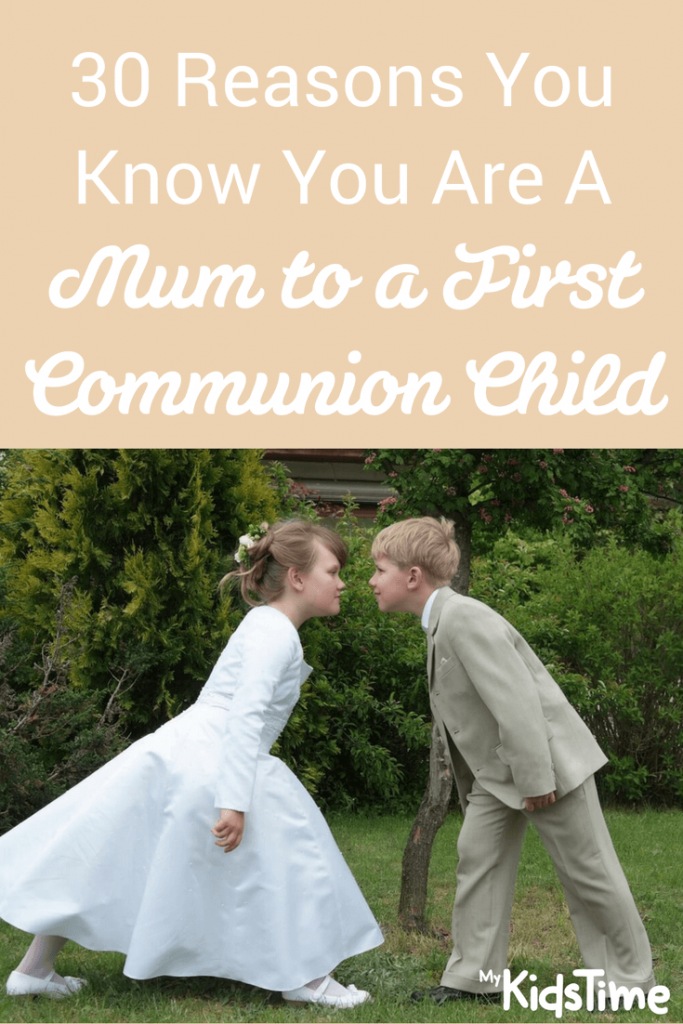 First communion image to pin to pinterest