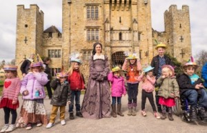 hever castle easter family fun