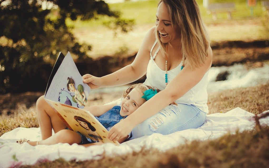 mother-and-daughter reading for quality time with your child