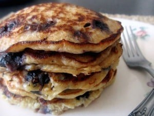 Quinoa pancakes from ambitious kitchen