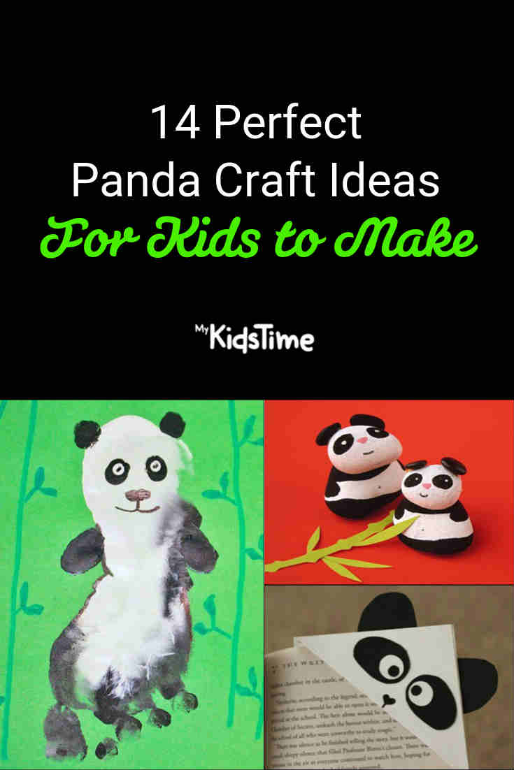 14 Perfect Panda Craft Ideas for Kids to Make - Mykidstime