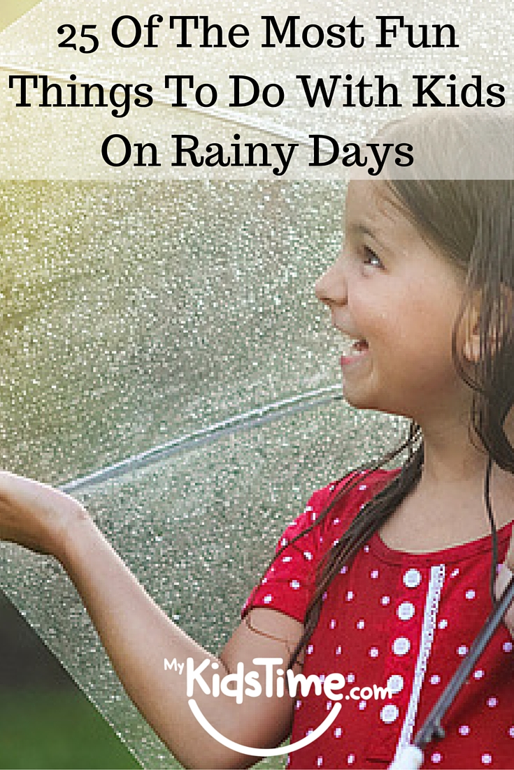25 Most Awesome Mirror And Metallic Nail Art Ideas: 25 Of The Most Fun Things To Do With Kids On Rainy Days