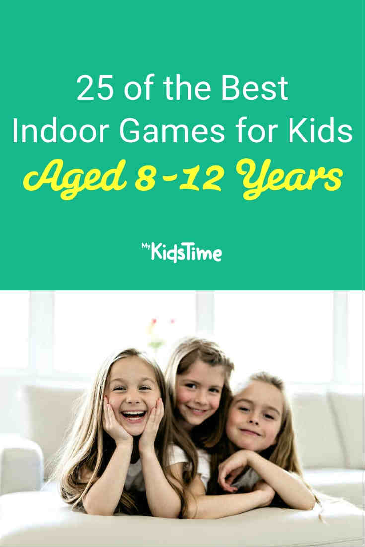 25 of the best indoor games for kids aged 8-12 years- Mykidstime