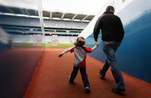Dads go FREE at Croke Park