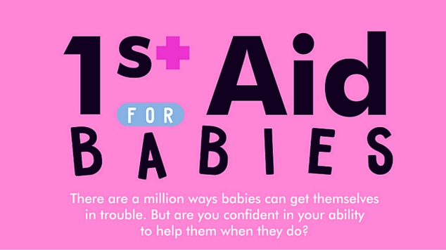 First Aid for Babies Infographic Header