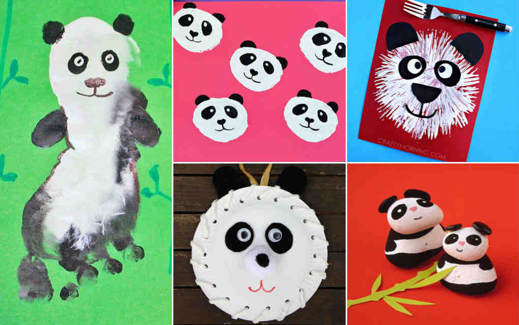 Panda craft ideas - Mykidstime