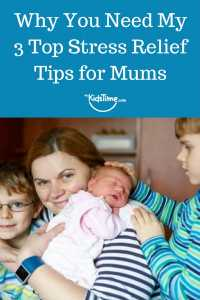 Stress Relief Tips for Mums