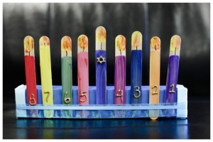 stick menorah