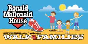 Walk4familes Ronald McDonald House