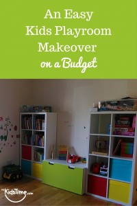 An Easy Kids Playroom Makeover