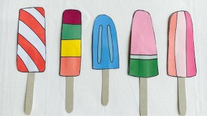 Cute Paper Lollies for Kids to Make