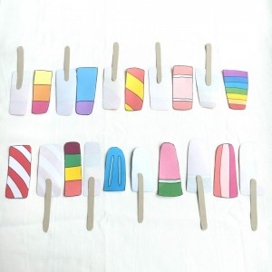 Paper ice lollies sticks 1